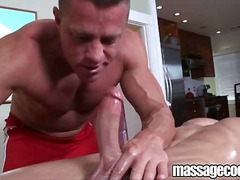 BoyFriendTV Movie:Muscular oiled massage