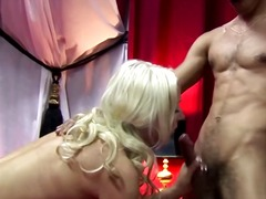 Real blonde hooker in ... video