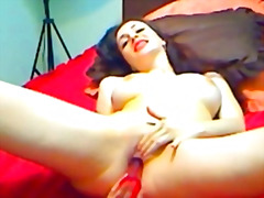 cute, orgasm, shaved, vibrator, pleasure, europeans, dildo, pussy, webcam, romanian, pink, toys, college, self, tits, busty, solo