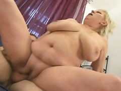 boobs, mature, blonde, facial,