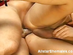 Blonde tranny banging ... preview