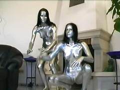 Dirty twins in silver video