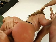 dp, threesome, cumshot, double