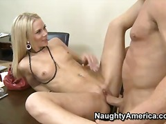 PornSharia Movie:Sophia lynn is boss skinny bea...