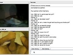 Chatroulette 3, nice p... from Xhamster