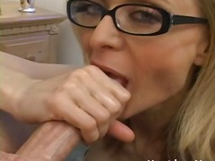 Thumb: Naughty cougar nina ha...