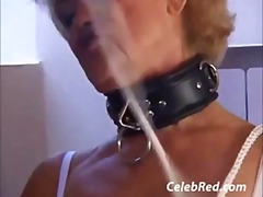 Granny gets it cumshot