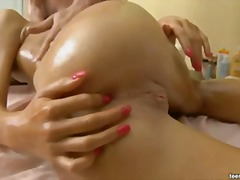 What a relaxing massage video
