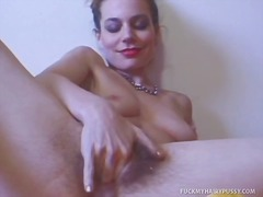 milf, toys, dildo, vibrator, hairy, strapon, amateur, toy, sex toy