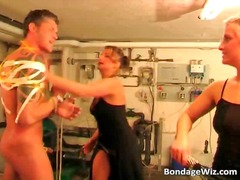 fetish, domination, threesome, bondage,