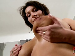 Yobt - Giant racked brunette ...