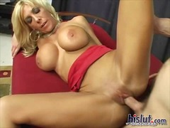 blonde, milk, titjob, sucking, busty,