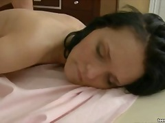 Edita getting massaged video