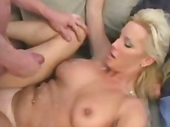 mature, busty, tits, cumshot, cougar, old