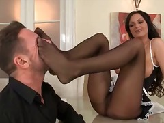 French maid gives her ... from Alpha Porno