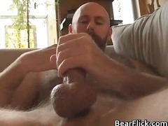 masturbation, bear, solo, mature,