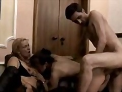 dp, threesome, gape, anal, amateur,