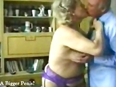 H2porn Movie:Granny entertains two old guys