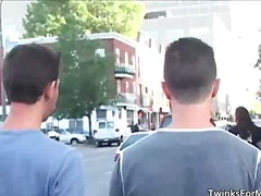 Cute gay guys going fo... video