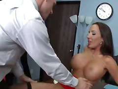 office, work, natural, blowjob,
