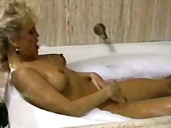 retro, wet, masturbation, blonde,