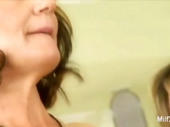 ProPorn Movie:Milf moms stripping in the kit...