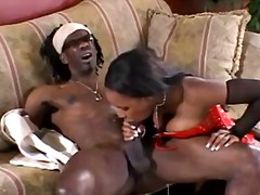 Phat ass ebony gives b...