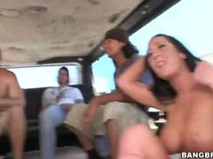 PinkRod Movie:Three good looking pornstars j...