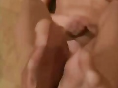 A very nice foot job video