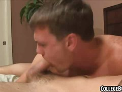 BoyFriendTV - Two hot fraternity hun...