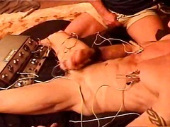 Cbt electrostim and cum - BoyFriendTV