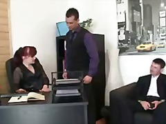 mother, old, blowjob, threesome
