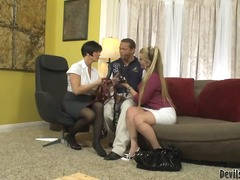 Updatetube Movie:Joclyn stone and shay fox are