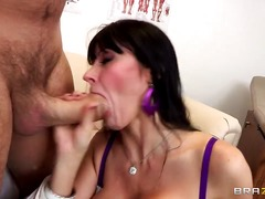deepthroat, milf, throat, double