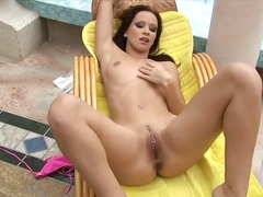 dildo, masturbation, tits, natural,
