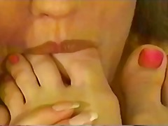 Xhamster Movie:Great lesbian foot worship on ...