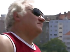 Horny old man seduces ... from Xhamster