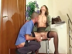 Hot lady gets choked b... video