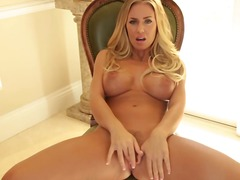 Big boob goddess nicole aniston thingers after striptease