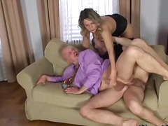 dp, threesome, gape, bisexual, anal