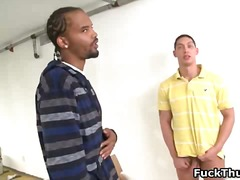 Black thug dude gets p...