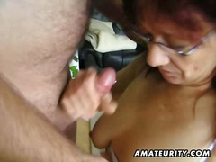 Hot amateur mature slu... video
