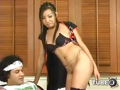 aShemaleTube Movie:Hard sex for a petite ladyboy ...