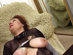 Busty russian mature s... video