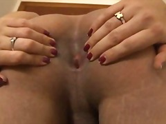 See: Lonely tranny shows he...