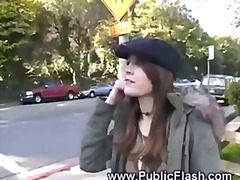Keez Movies Movie:Jenni lee - public flash
