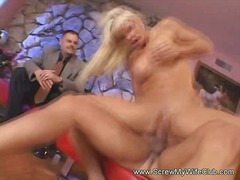 Blonde swinger wife is... video