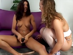 Xhamster Movie:Interracial anal teens-n-toys bts