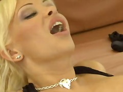 Blonde big titted babes video