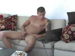 Solo gay cock jerker - more gay tube porn